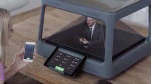 Holus: aparelho quer trazer projeções holográficas para a sala da sua casa