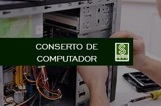Serviço conserto de computador