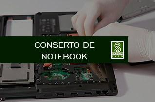 Serviço conserto de notebook