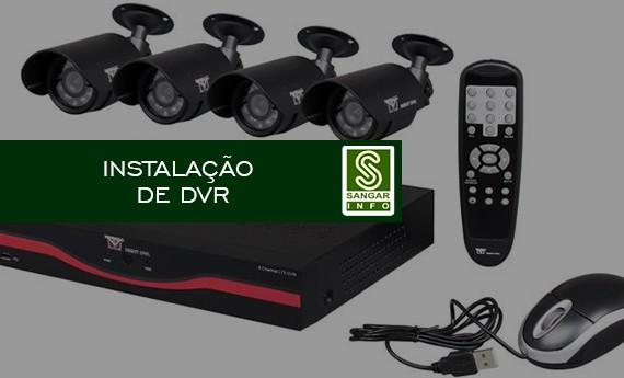 Instalação de DVR